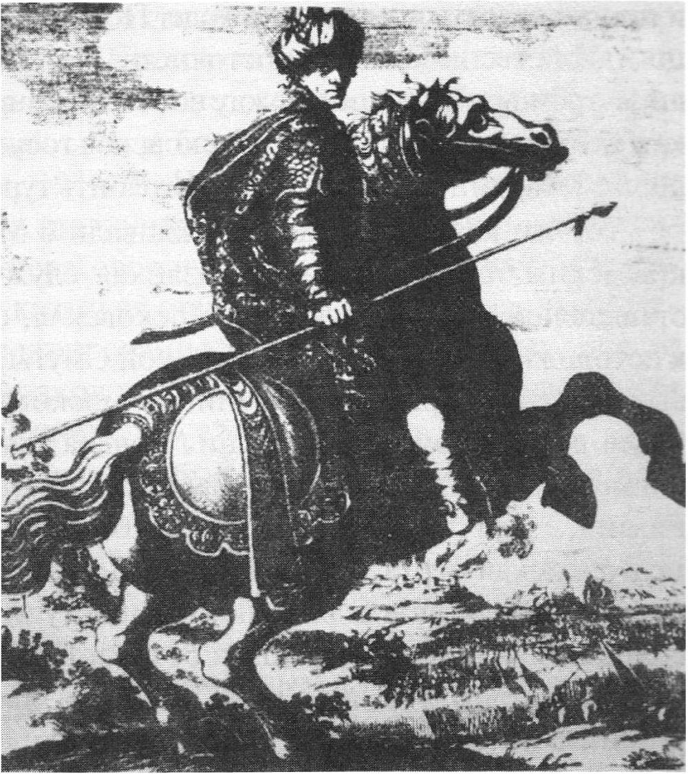 Ислям III Герай, заключивший секретный договор с поляками за спиной Богдана Хмельницкого