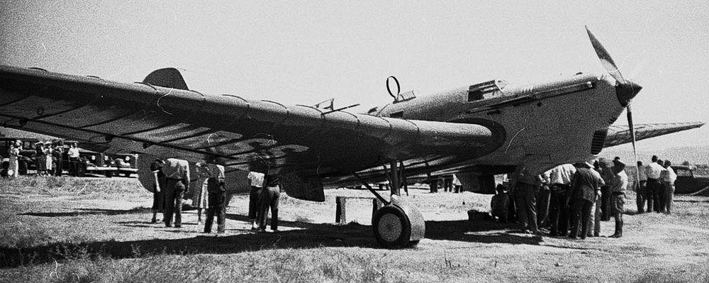 Самолёт АНТ-25 РД (рекорд дальности), к созданию которого был причастен авиаконструктор Владимир Петляков