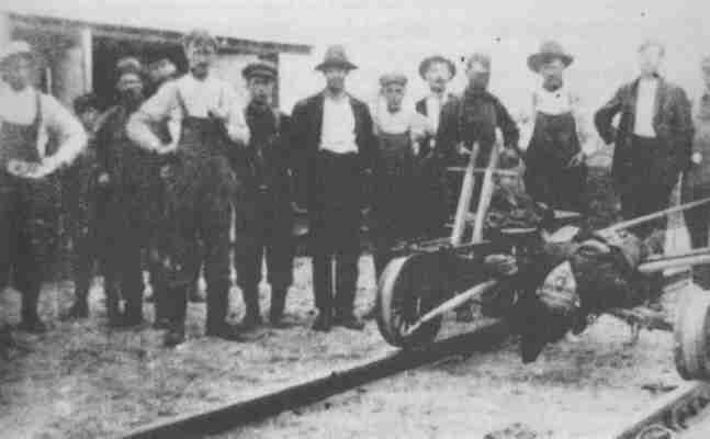 Иван Григорищук был застрелен при попытке к бегству в лагере Спирит Лайк 7 июня 1915 г.