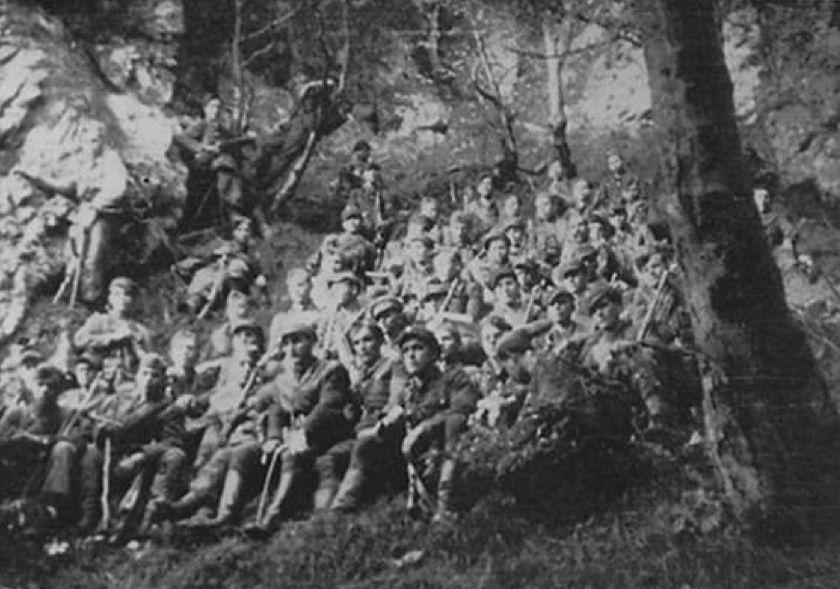 «Бурлакова сотня» в горах Словакии