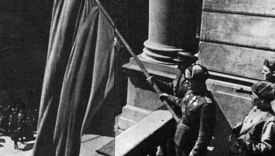 Исторические фото. Одесса. 10 апреля 1944 года