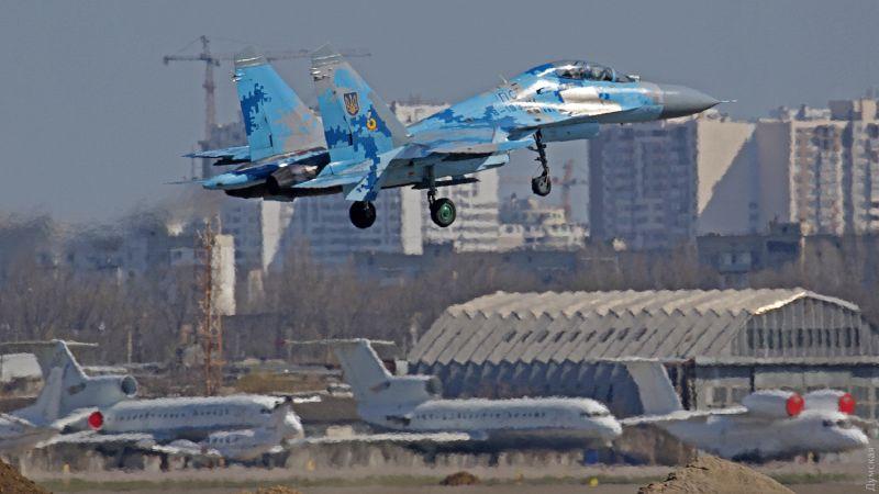 Авиационные учения над Одессой