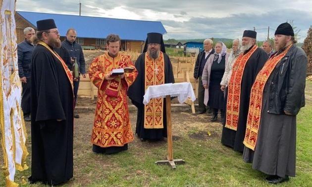 Сожжённый храм села Лукавцы будет возрождён
