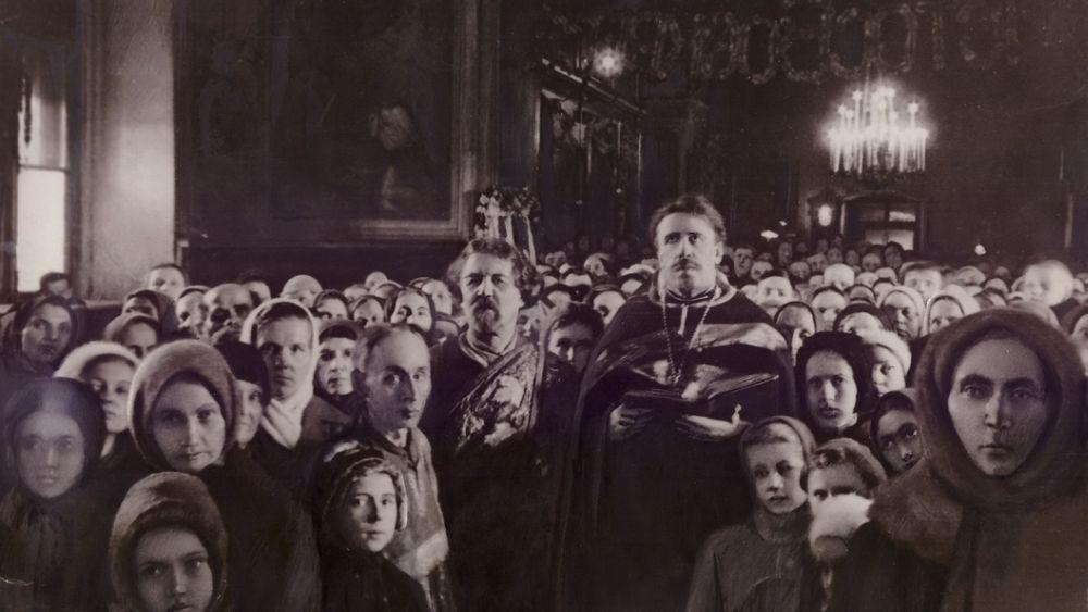 Пасхальное богослужение в годы войны