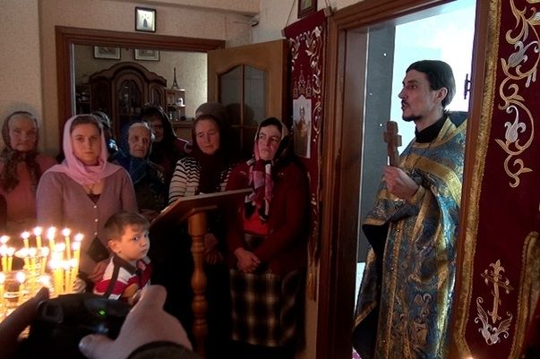 Так молится община Свято-Покровского храма села Малая Любаша