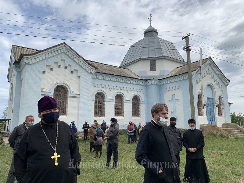 Свято-Покровский храм села Чечелиевка отстояли в очередной раз