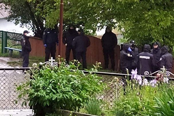Полиция в Задубровке