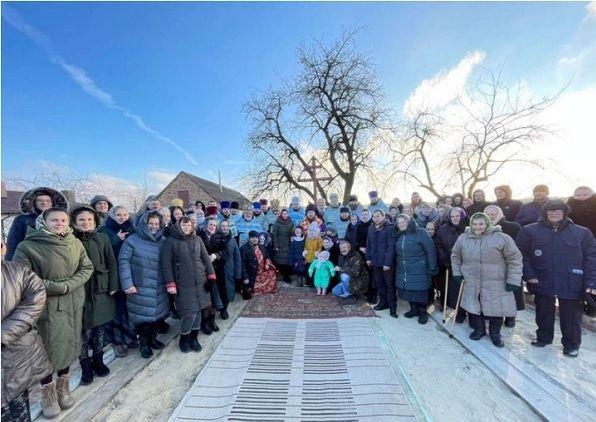 Верующие села Озеряны начали строить новый храм