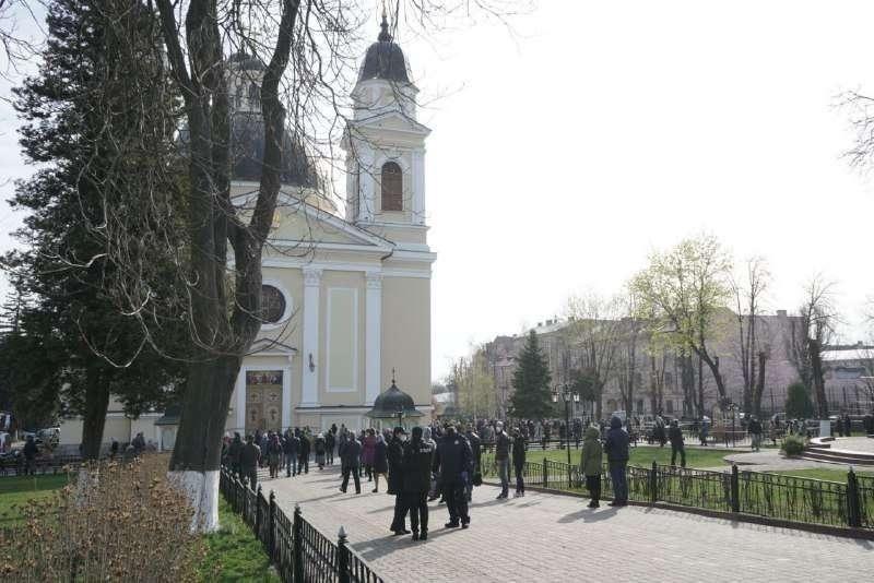 Вербное воскресенье на Украине
