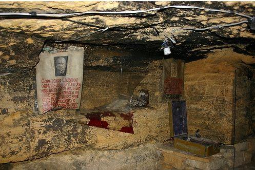 Музей партизанской славы в одесских катакомбах