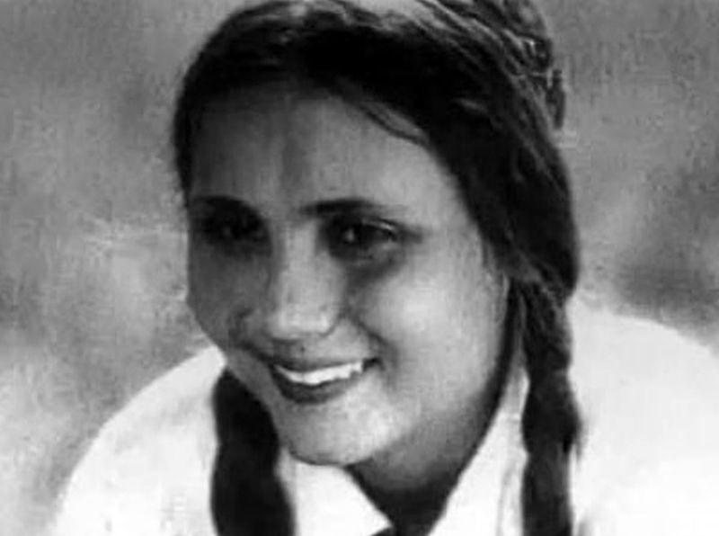 Советская киноактриса и разведчица Ирина (Бибииран) Алимова