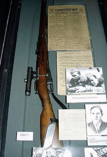 Снайперская винтовка Василия Зайцева