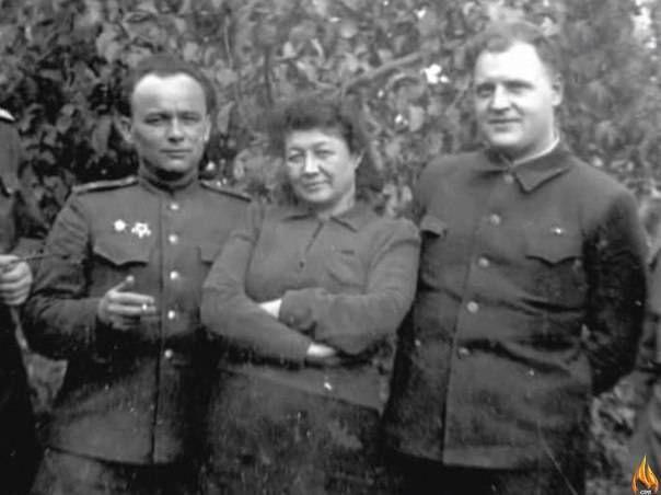 Зинаида Ермольева на фронте