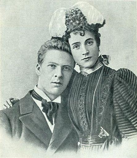 Фёдор Шаляпин и Иола Торнаги