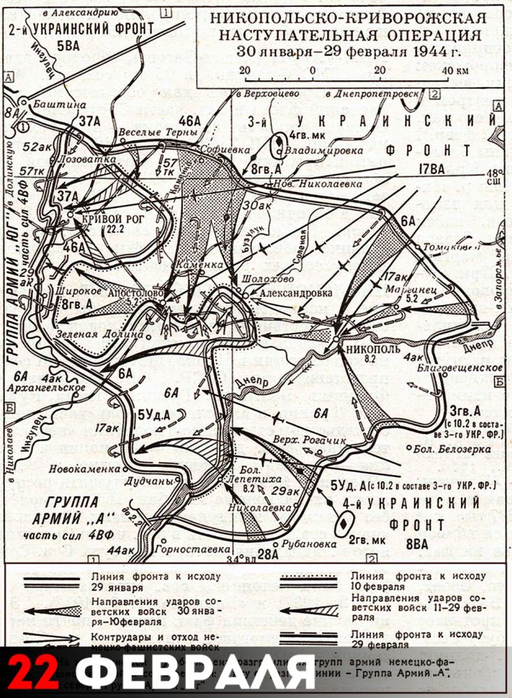 Никопольско-Криворожская наступательная операция