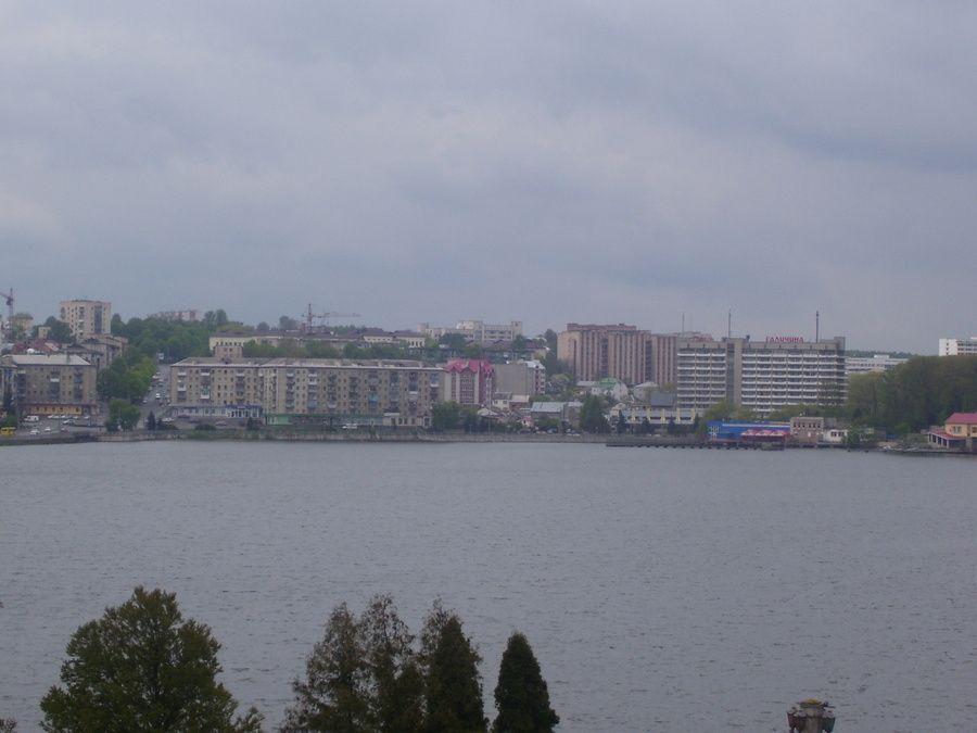 Вид на жилой массив «Дружба», Тернополь