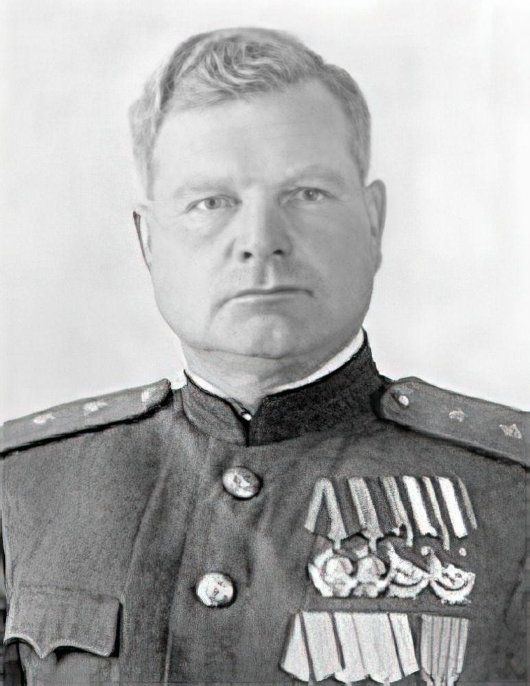 Генерал-лейтенант Дмитрий Козлов, заместитель командующего войсками Воронежского фронта