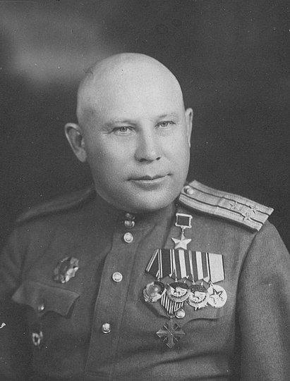 Полковник Кондратий Билютин. Его полк удерживал рубеж Тарановка – Змиёв