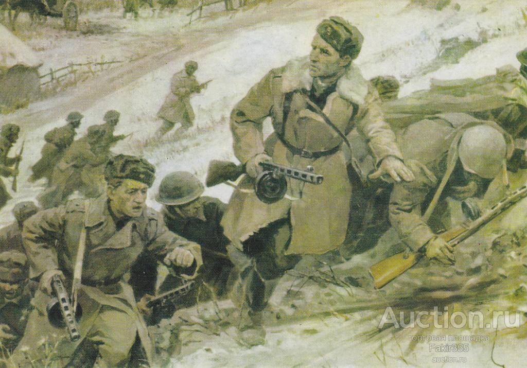 Фрагмент диорамы «Бой в с. Соколово 8 марта 1943 г.» в Музее боевого братства в Соколово. На переднем плане – Отакар Ярош