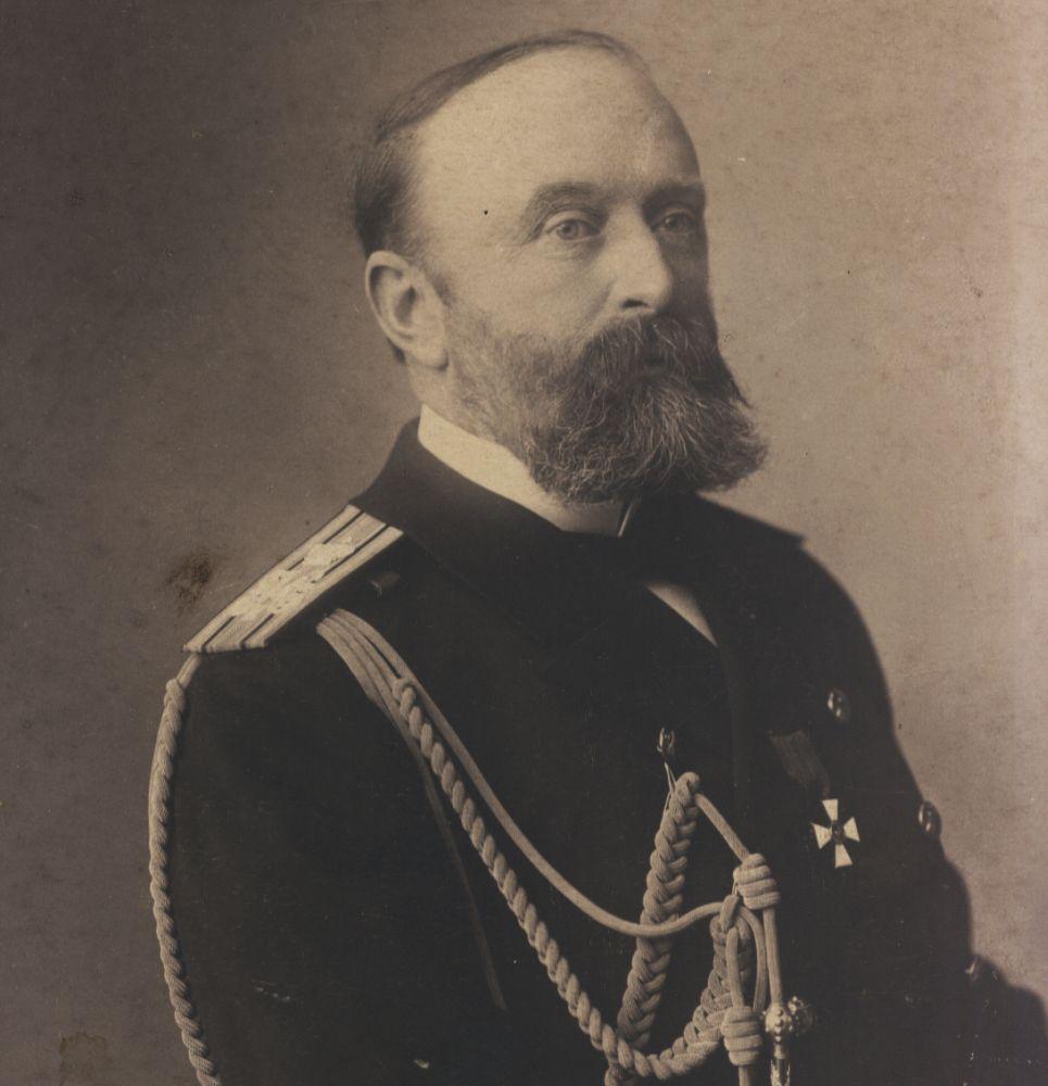 Капитан 1-го ранга Всеволод Руднев, командир крейсера «Варяг»