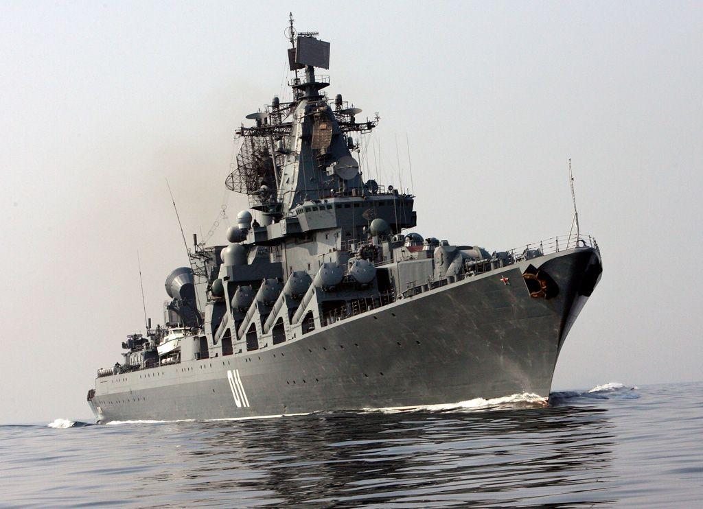 Ракетный крейсер Тихоокеанского флота «Варяг»