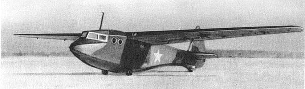 Военный планёр А-7 конструкции О.К. Антонова.