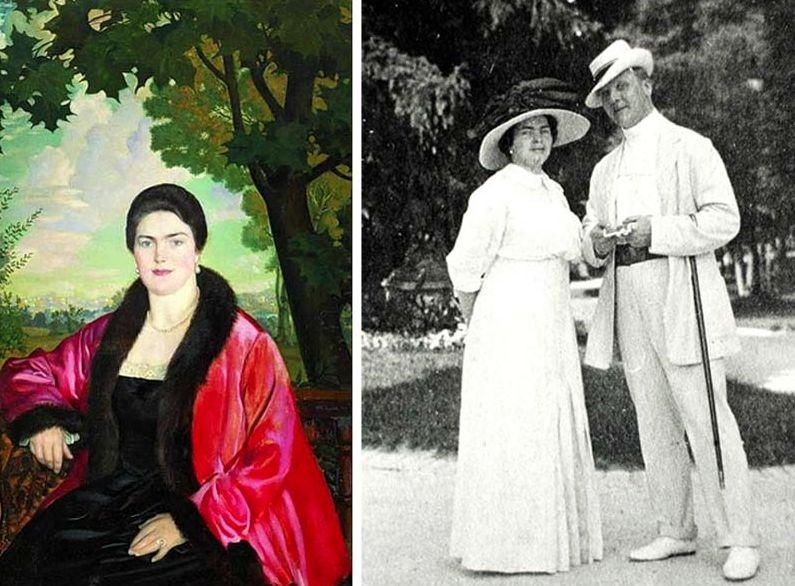Фёдор Шаляпин с Марией Петцольд