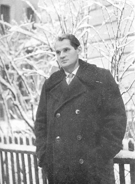 Зимний человек Борис Чичибабин. Фото 1960-х.