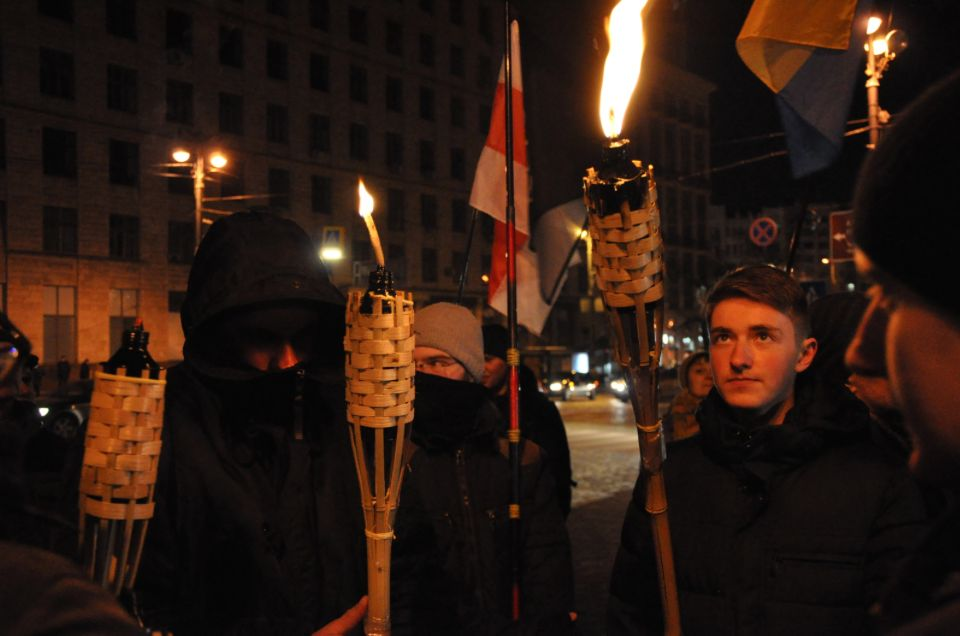 Белорусские националисты и раньше участвовали в бандеровских маршах, но масштабы этого участия были иными