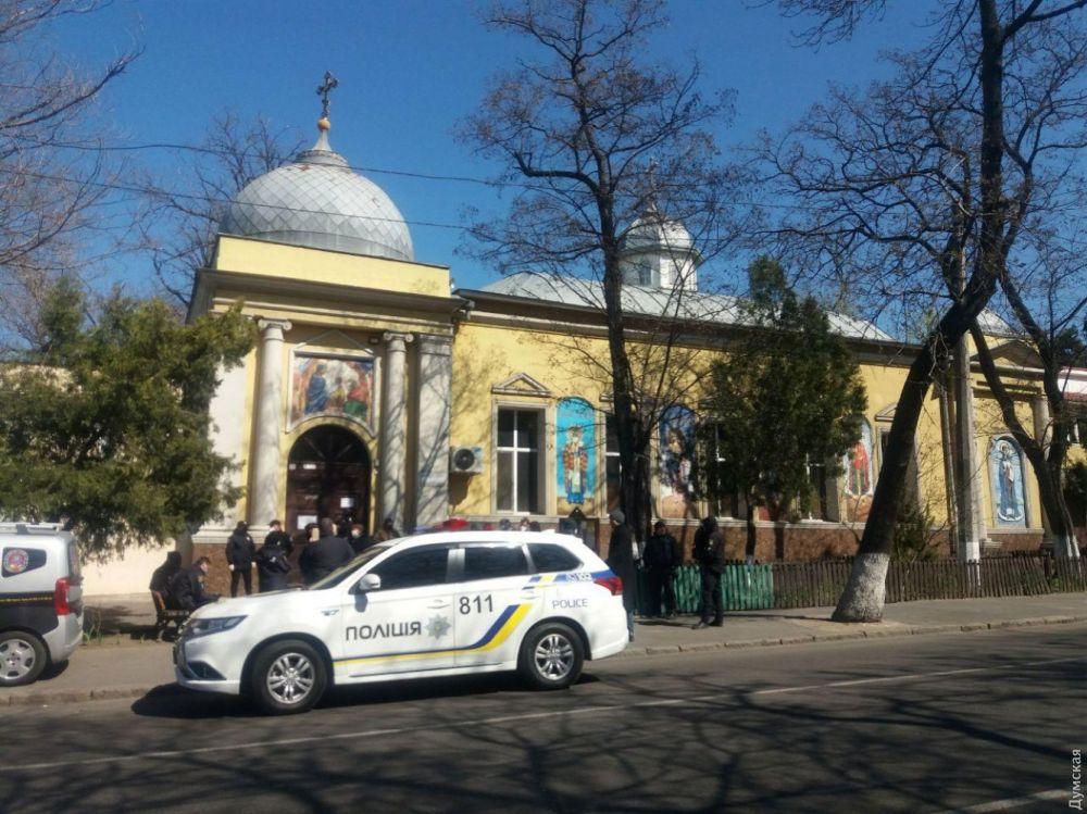 «Кафедральный собор» раскольников в Одессе, который они никак не могут поделить