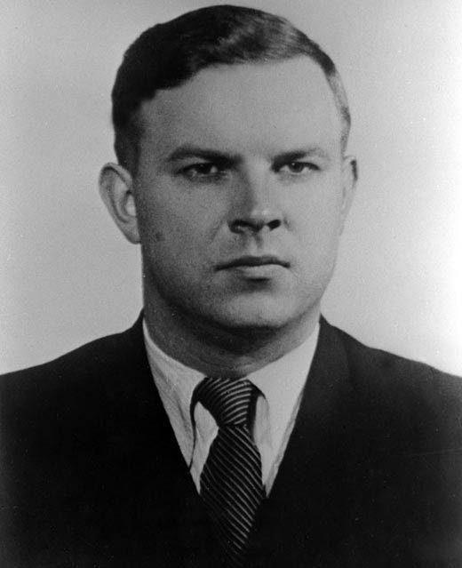 Владимир Семичастный в молодые годы