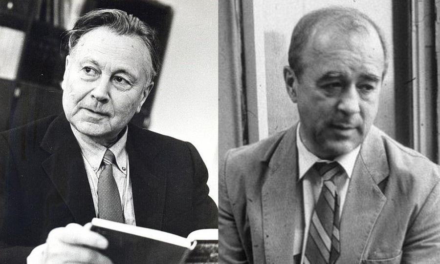 Две «яркие» кадровые находки Е.К. Лигачёва с Украины, под занавес: ренегаты Ф.Т. Моргун и В.А. Коротич