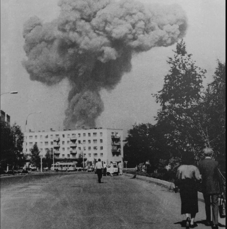 Взрыв поезда в Арзамасе