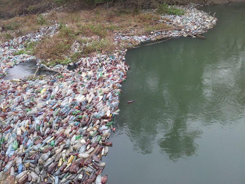 Закарпатская Латорица – пластиковая река