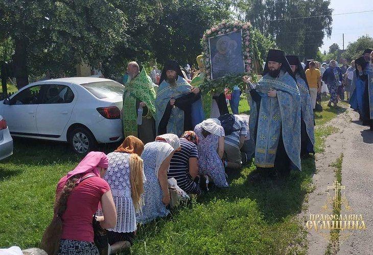 Традиция Крестного хода сохраняется в Мирополье