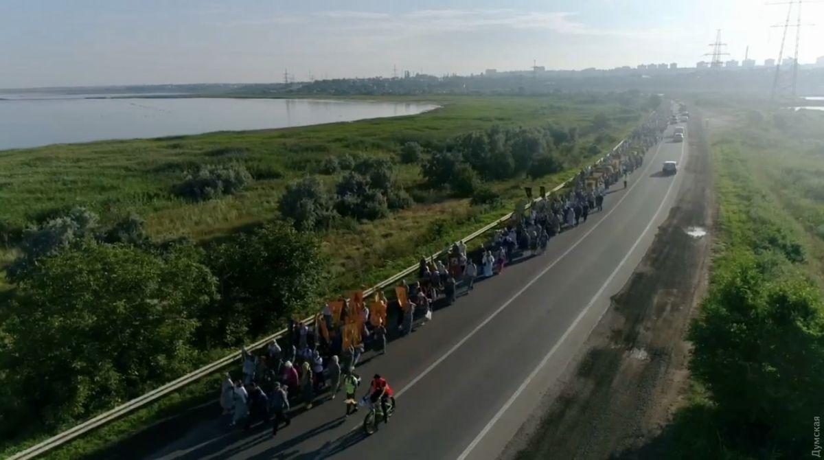 Крестный ход в Одессе «от Владимирской до Тихвинской»