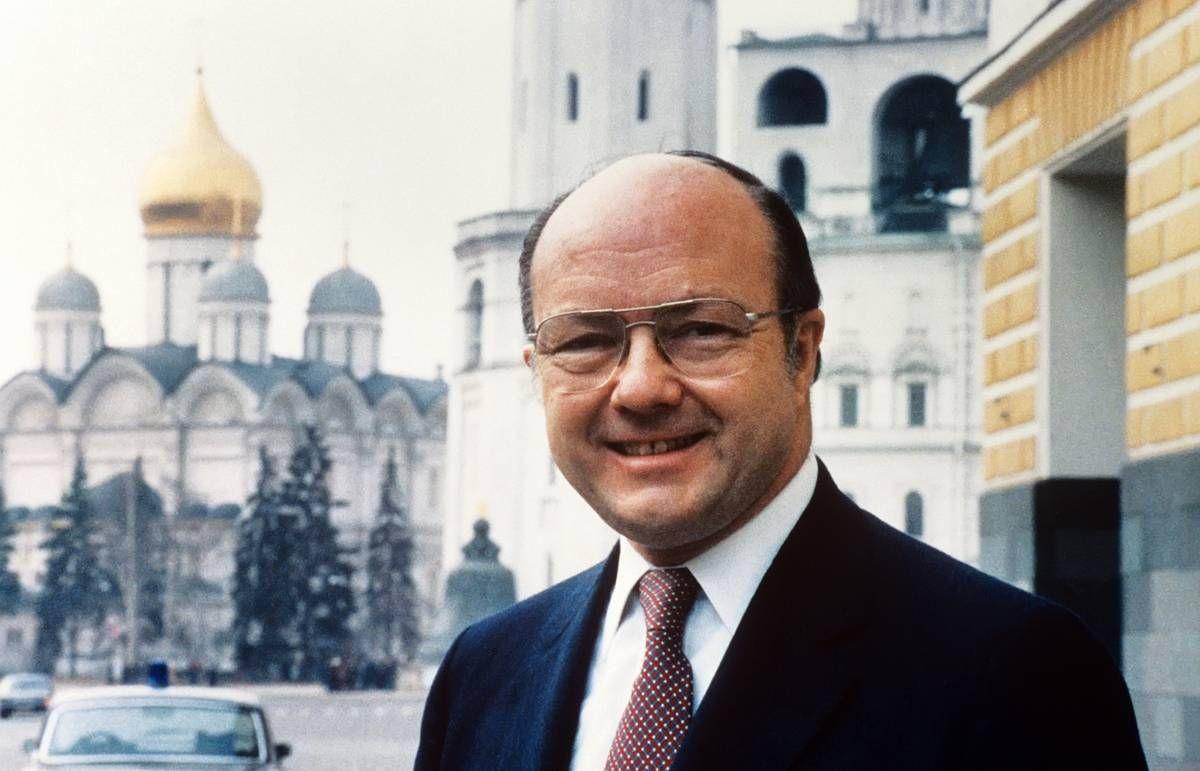 Посол США в СССР – улыбчивый Джек Мэтлок, 1987 год
