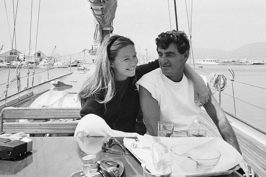 Со вторым мужем Жаном-Клодом Бруйе