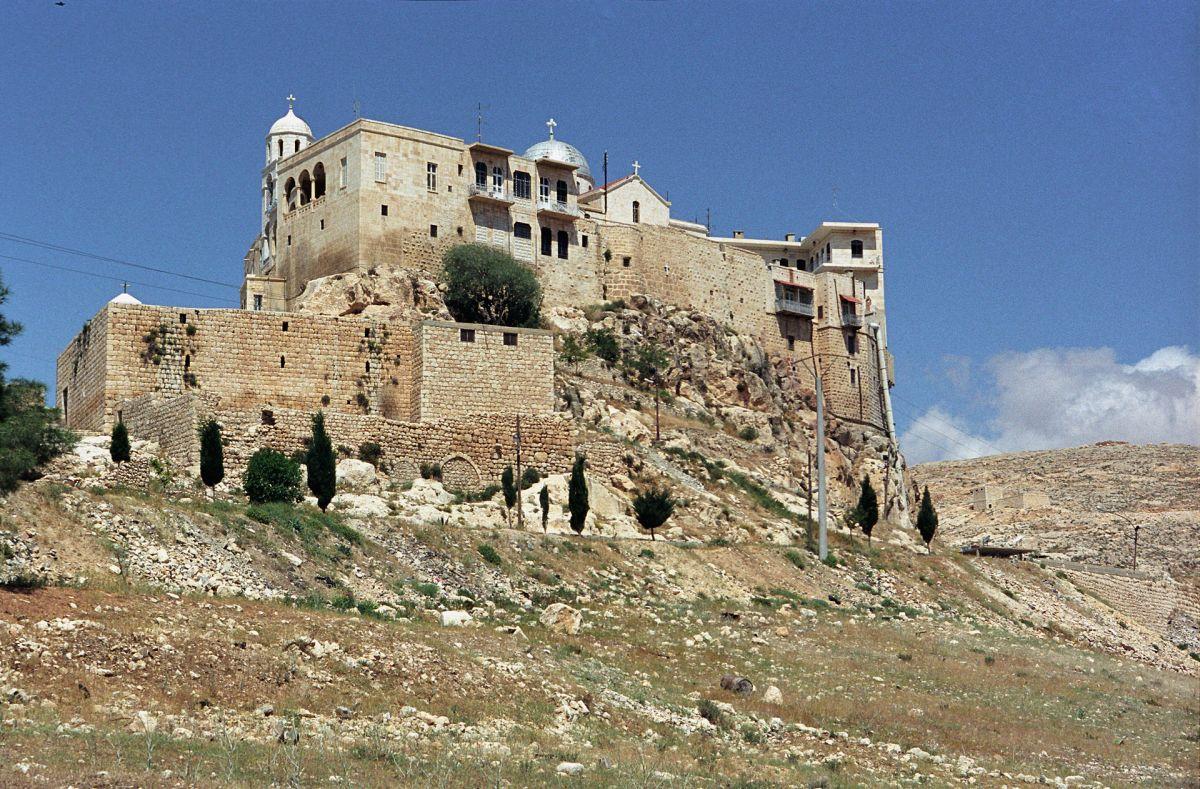 Древнейший Сайданайский монастырь Антиохийской православной церкви в Сирии