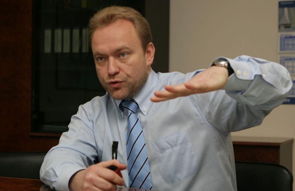 Председатель партии «Союз левых сил» Василий ВОЛГА