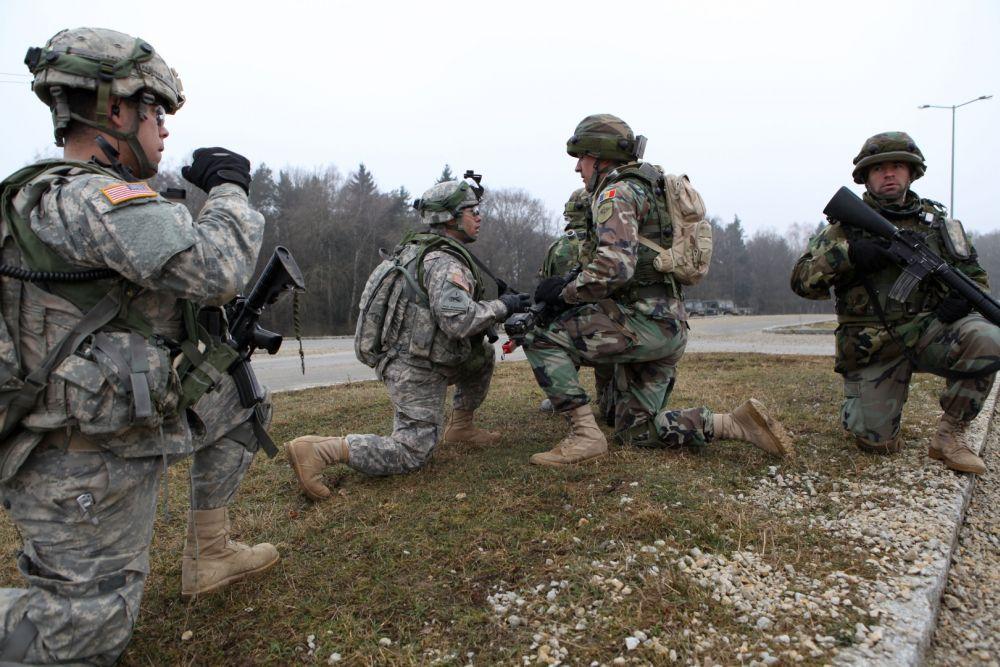 Учения НАТО в Румынии с участием молдавских военных