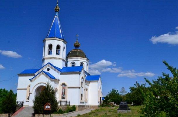 Свято-Михайловский храм города Первомайск Вознесенской епархии УПЦ МП