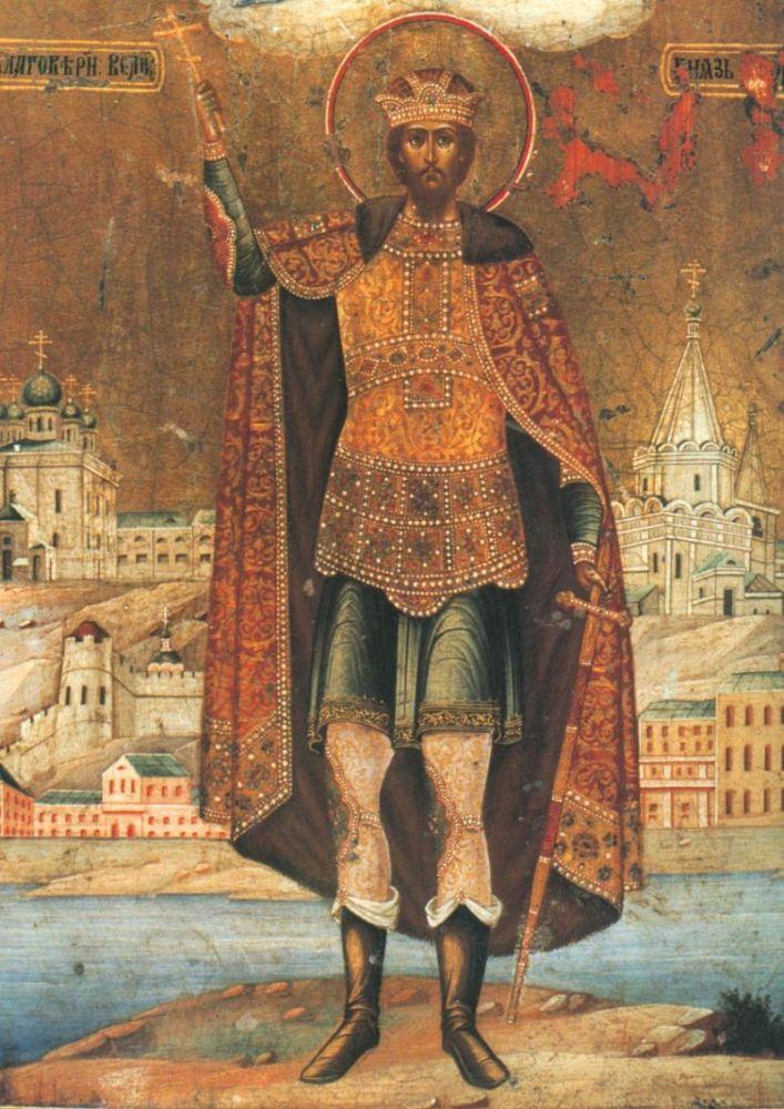 Святой благоверный князь Георгий – дядя Александра Невского