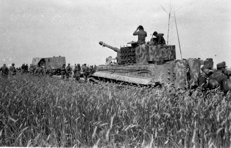 Немецкие солдаты во время попытки прорыва из Бродского котла
