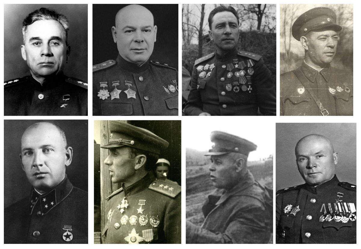 Советские генералы, разгромившие дивизию СС «Галичина» Гордов, Пухов, Катуков, Баранов, Курочкин, Москаленко, Рыбалко, Лелюшенко