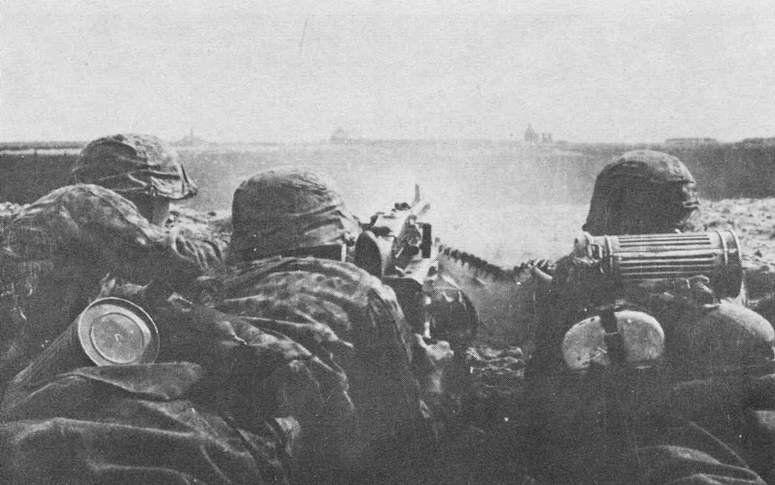 Галицкие эсэсовцы ведут бой под Бродами