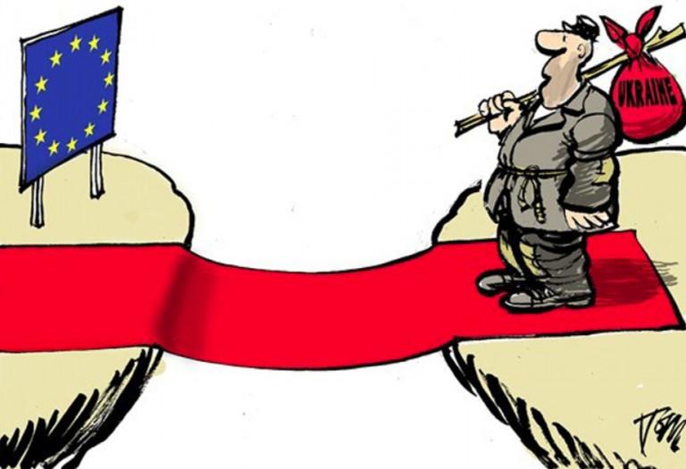 Украинский «поворот на Восток» как свидетельство призрачности «пути на Запад»