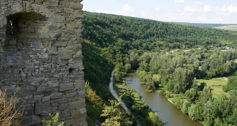 Река Збруч – по планам Голувко именно она должна отделять Польшу от украинского «государствишка»