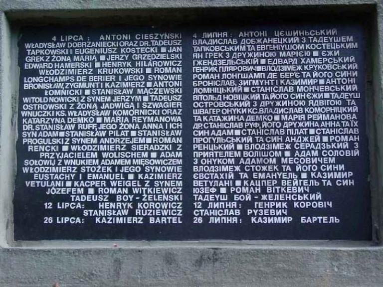 80 лет назад во Львове произошла «резня львовских профессоров»